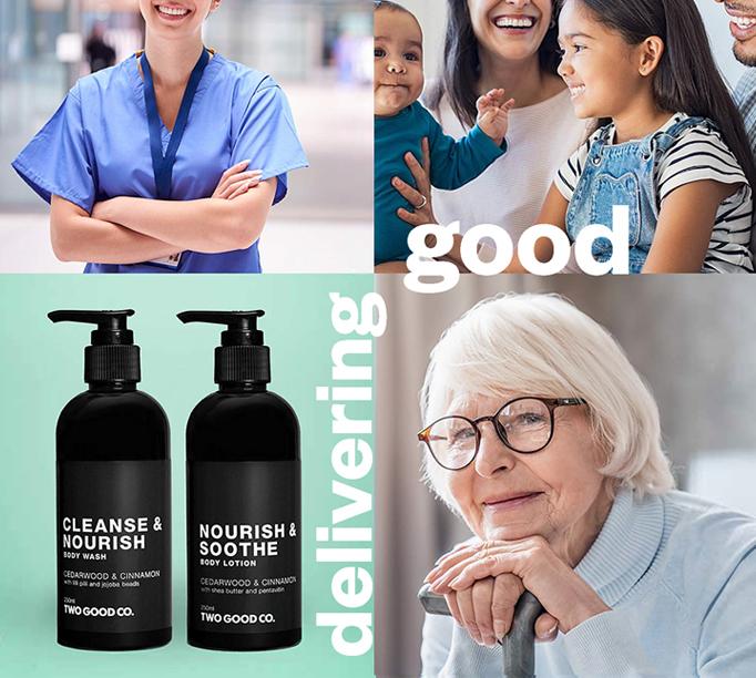 Delivering good care packs 682 x 612