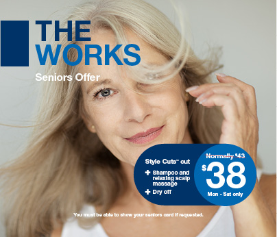 Just Cuts The Works Senior Offer Now Available