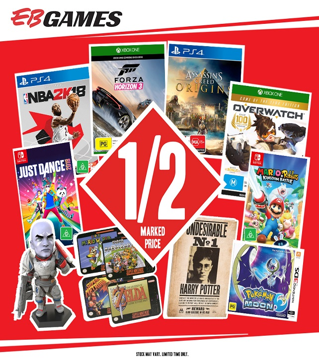 EB Games - Biggest Sale Ever - Shopping Centre Send 642 x 727