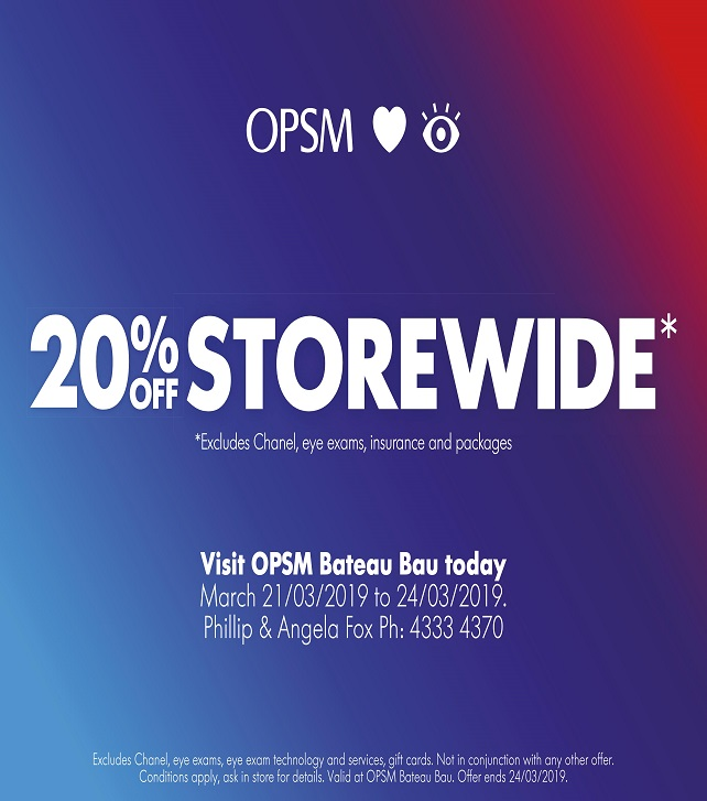 20% off OPSM 642