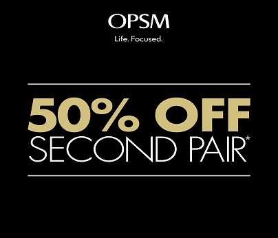 OPSM - 2nd pair 50% off 404